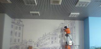 in decal pp tranh khổ lớn dán tường